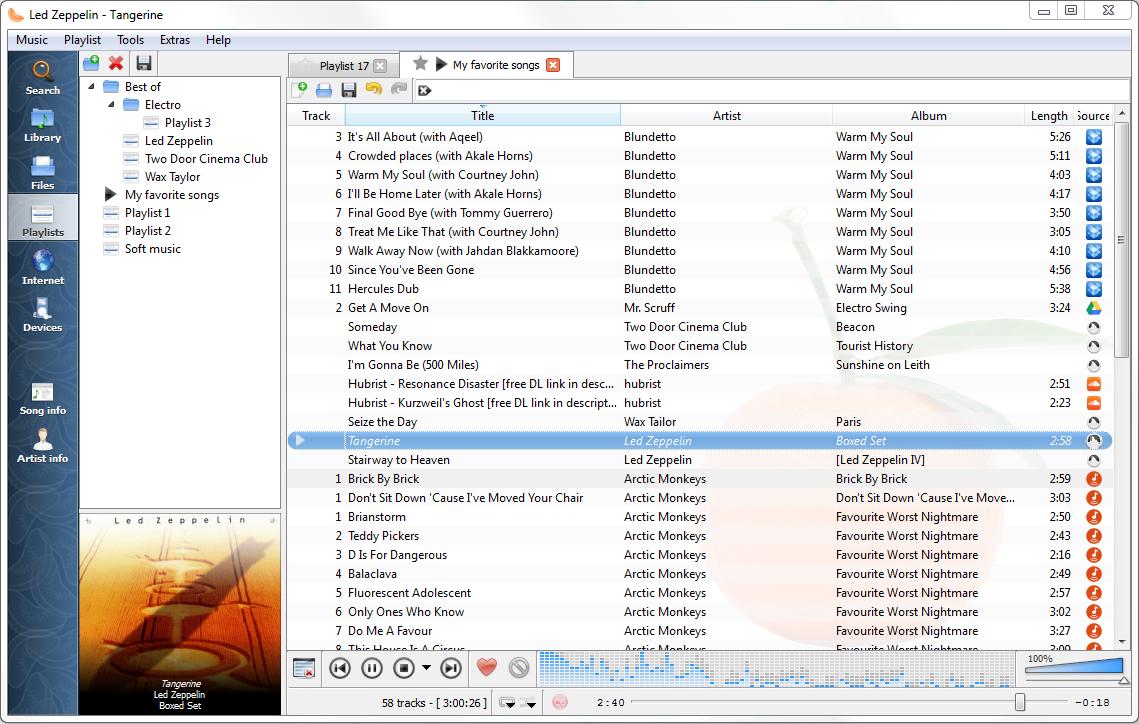 отличный аудиоплеер для Ubuntu, Lubuntu, Kubuntu