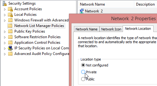 Networklocation-secpolmsc